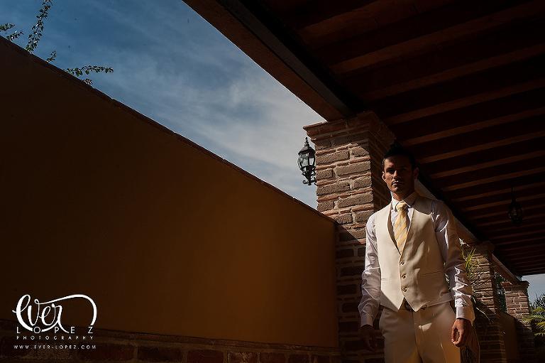 mexican destination hacienda wedding photographer Mexico san miguel de allende groom getting ready