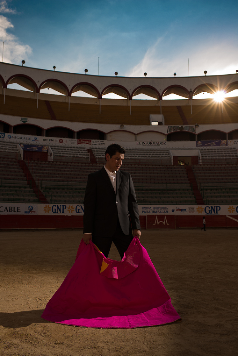 ever lopez mexican destination wedding photographer Mexico bullfighter engagement session
