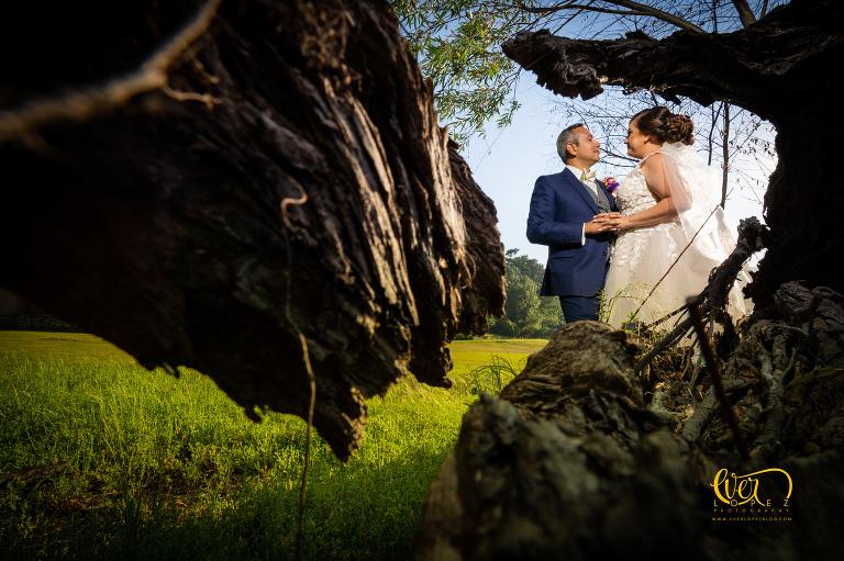 boda de destino en Sierra Lago